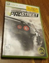 Need for Speed ProStreet (Microsoft Xbox 360, 2007)  - $11.14