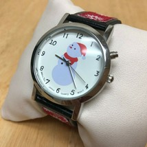 Vintage Anya LTD Christmas Jingle Bell Musical Quartz Watch Hours~New Ba... - $18.99