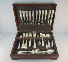 Vintage International Sterling Silver Monogram Flatware 84pcs  - $7,623.00