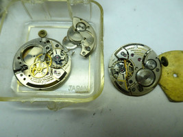 GRUEN CAL 420SS & 420 WATCH MOVEMENTS AND DIALS IN PARTS FOR RESTORATION... - $120.94