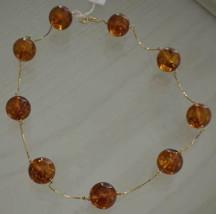 Collar de Oro Amarillo 750 18K con Ámbar 1 , CM - $879.04
