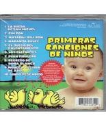 PRIMERAS CANCIONES de NINOS   Aaudio CD - $19.95