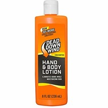 Dead Down Wind Odorless Hand & Body Lotion - Unscented - Odor Elimination for Hu