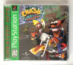 Crash Bandicoot Warped (Sony PlayStation 1 1998) PS1 COMPLETE in Case Game Works - $19.50