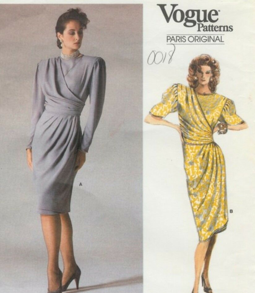 Primary image for Vintage Pattern 1834 Ungaro Mock Wrap 16