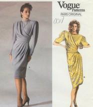 Vintage Pattern 1834 Ungaro Mock Wrap 16 - $58.50