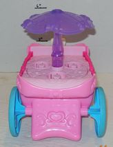 Fisher Price Disney Little People Pink Purple Princess Carriage Carousel Musical image 4