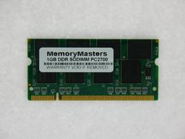 1GB  DDR MEMORY RAM PC2700 SODIMM 200-PIN 333MHZ