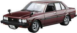 Aoshima 1/24 No.71 Toyota E71/70 Corolla Sedan GT/DX 1979 Model Kit w/Tracking# - $28.03