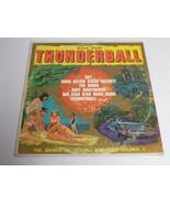Music From Thunderball James Bond ORIGINAL Vintage 1965 Vinyl LP Record ... - $18.49