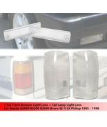 Front Bumper Light Lens + Tail Light Clear Lens For Mazda B2000 B2200 B2600 - $36.10