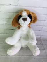 Circo White Tan Black Dog Puppy Plush Stuffed Animal Toy Floppy Ears 2011 - $31.67