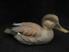 Gosset Gadwall Duck Decoy Sculpture Limited Edition 653/100 Canada 10 1/... - $39.59