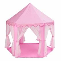 Princess Castle Play Tent Portable Activity House Fun Playhouse Baby Pla... - $75.99
