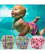 Baby Swim Diaper Waterproof Adjustable Reusable Infant Pool Pant Toddler... - $7.99+