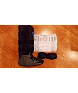 Orthopedic Air Pump Stabilizer Immobilizer High Ankle  Brace  Boot small - $19.75
