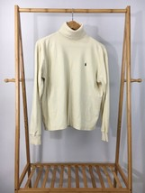 Ralph Lauren Sport Women's Pony Beige Turtleneck Sweater Size L - $14.67