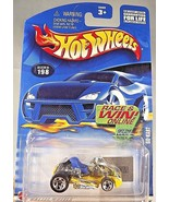 2002 Hot Wheels Collector No #198 GO KART Yellow with BLUE Seat w/5 Spok... - €5,57 EUR