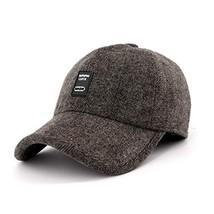 22efc8638bdb15 Gisdanchz Baseball Winter Hat,Warm Baseball Cap,Winter Wool Baseball Cap.