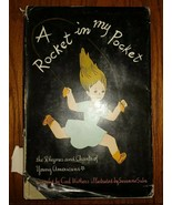 A Rocket In My Pocket by Carl Withers 1948 1st Ed. Hardcover w/DJ vintage - $34.65