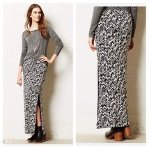 New Anthropologie Capella Maxi Skirt by Maeve BLACK Small Retail $88 - $39.60