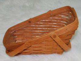 Longaberger Medium Vegetable Basket & Protector Swinging Handles Classic 1995  - $39.55