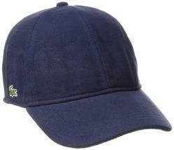 Lacoste Men's Classic Baseball Premium Cotton Pique Croc Logo Hat Cap RK0123-51 image 6