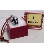 Elf Favorite Polar Double Chamber Silver Sleigh Bell From Santa's Sleigh... - $98.99