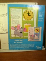 Tell Time Wall Hanging Quilt Pattern 34467MO Flying Fingers 1980 - $8.99