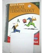 Rapide et Facile Medical Terminology Par Peggy C Leonard 2003 Livre de P... - $18.32