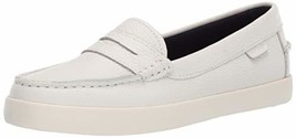 Cole Haan Women's Nantucket Loafer, White, 5 B US - $51.71