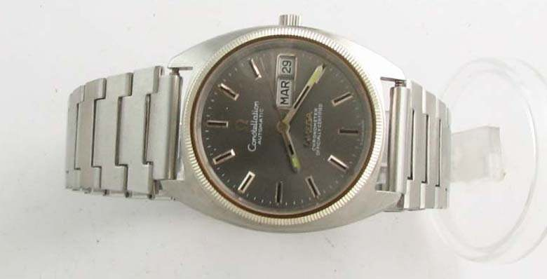Retro and Vintage Omega Constellation Day-Date Uhr Wrist Watch 1974