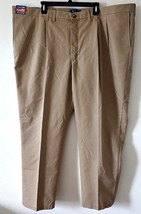 Lee Classic Fit Pleated-Front Total Freedom Khaki Pants Mens Big/Tall 50... - $39.60