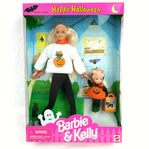 Happy Halloween Barbie & Kelly Dolls 1996 Gift Set Mattel #17238 Vintage - $26.71