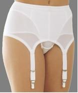 Rago Six Strap Medium Shaping Garter Belt & Stockings White Style 72522 ... - $37.62+