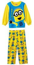 DESPICABLE ME MINION Micro-Fleece Pajamas Sleepwear Set NWT Sizes 3T or 4T - $16.86