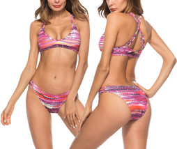 Women's Sexy Two Pieces Sporty Bikini Set - $23.99