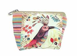 Creative And Colourful Bird Canvas Cosmetic Bags/Purse