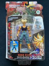 Bandai 2006 Dragon Ball Z GT Kai God Hybrid Super Saiyan SS Trunks Figure DBZ - $42.99