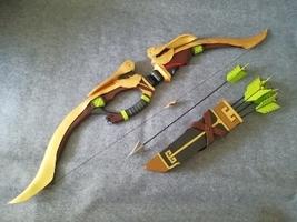 Overwatch Hanzo Skin Huang Zhong Weapon Bow Cosplay Replica Prop Buy - $260.00