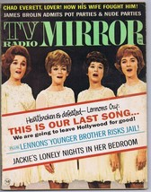 ORIGINAL Vintage June 1970 TV Radio Mirror Magazine Lennon Sisters - $18.51