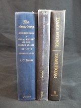 Book Stack Blue Black Lot of 3 Farmhouse Shabby Cottage Decor - $12.82