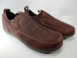 Spenco Timberjack Sz Us 9 M (D) Ue 42,5 Homme Solide Chaussures Cuir Décontracté
