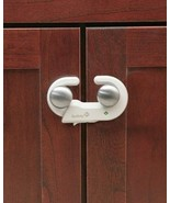 Safety First Grip And Go 2 Cabinet Door Latches White Plastic - $15.82