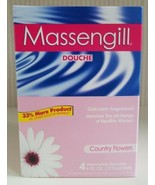 Massengill Douche Country Flowers 6 oz 4 Douches Total New Discontinued  - $49.50