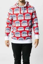 NWT MENS HUF x Budweiser All Over Print Hoodie Sweatshirt sz XXL SOLD OU... - $157.80