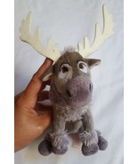Ty Disney Frozen Sparkle Beanie Baby Sven Moose  WITH TAG pre-owned in n... - $8.33