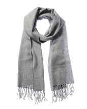 Alfani Men's Unisex Winter Shawl Acrylic Muffler Scarf One Size O/S - Gray - $11.87