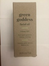 Avon Green Goddess Facial Oil made with plant based hemp seed oil  - $37.99