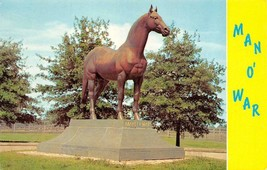 LEXINGTON, Kentucky KY   Race Horse MAN O'WAR STATUE~Faraway Farm  1969 ... - $5.85